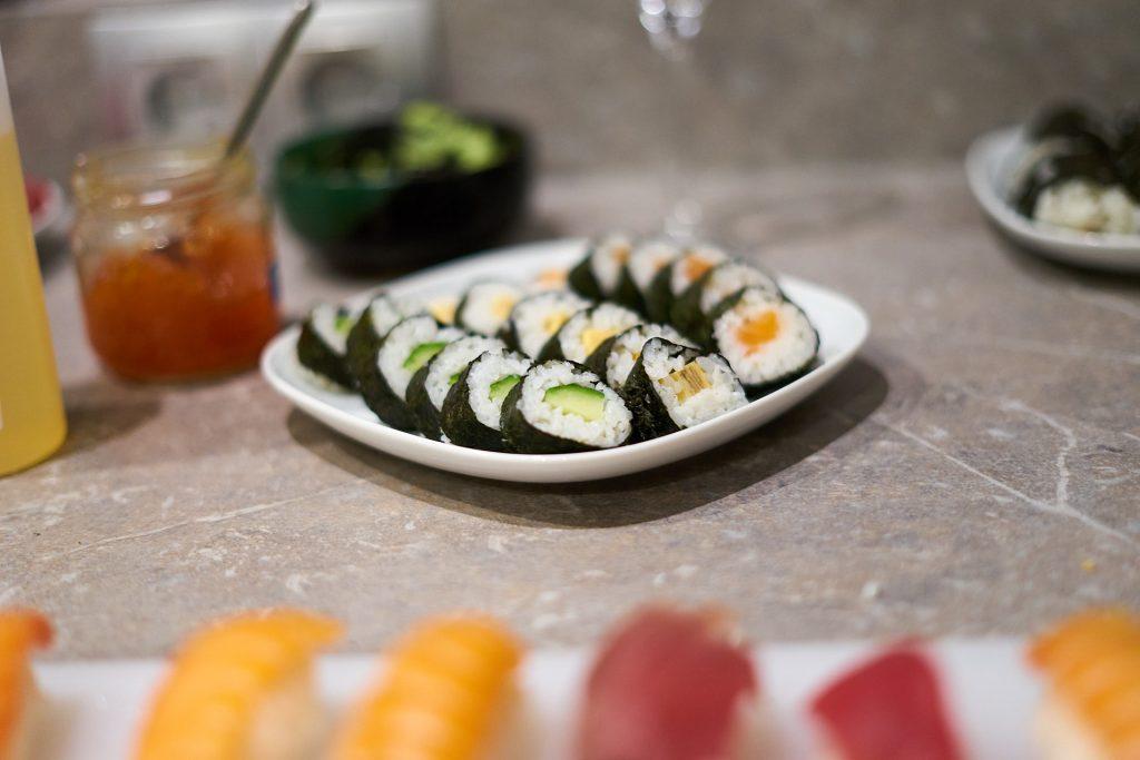 Makis. Sushi-Kurs Linz.