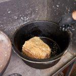 Schweinebauch im Dutch Oven