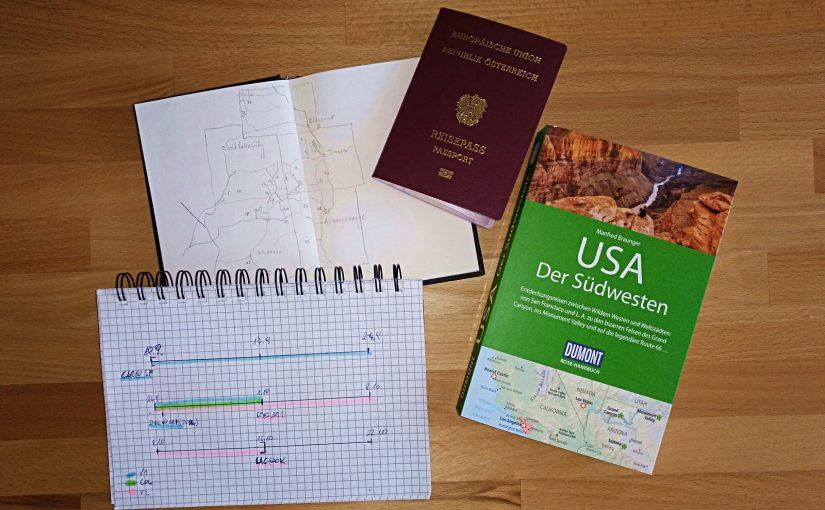 USA Reise 2017 – Die Eckdaten