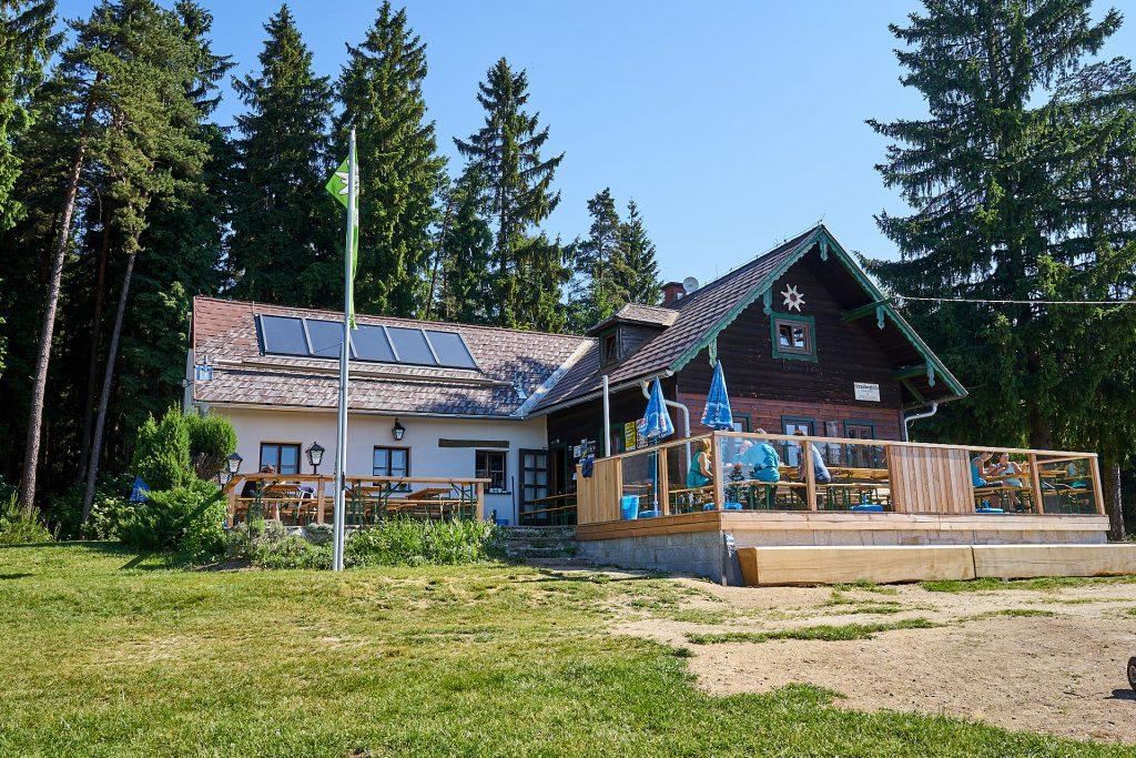 Die Braunberghütte.
