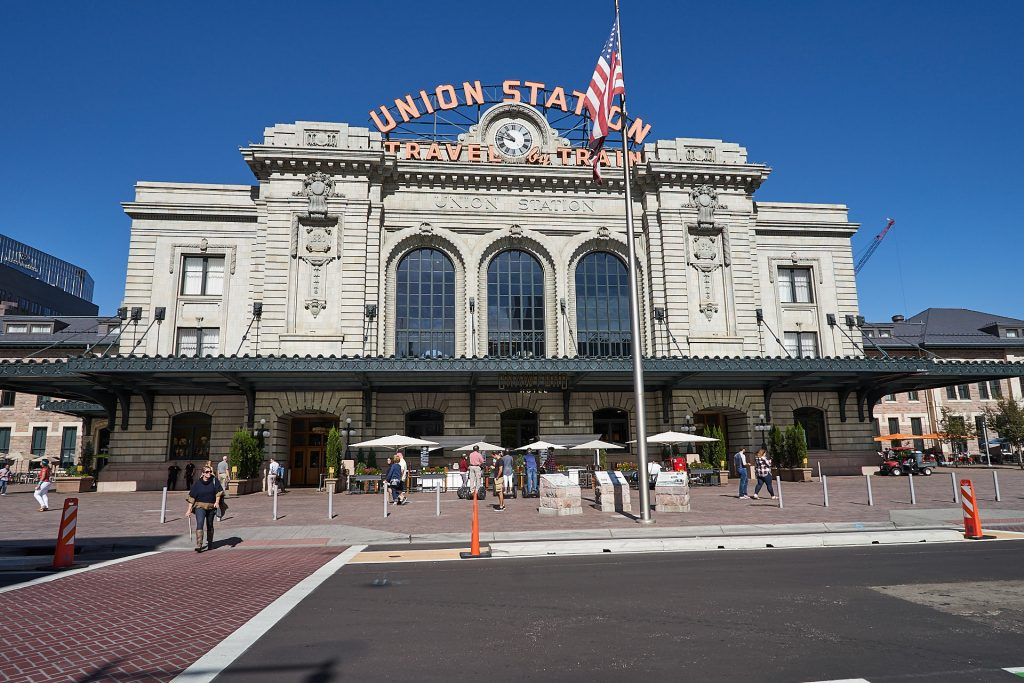 Die Union Station in Denver