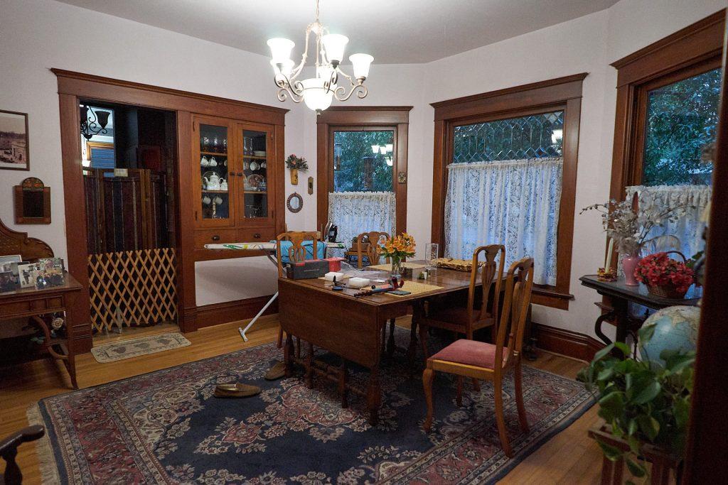 Das Wohnzimmer in Ellen's B&B.