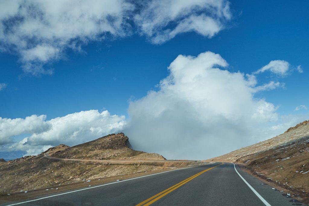 Rauf auf den Pikes Peak!