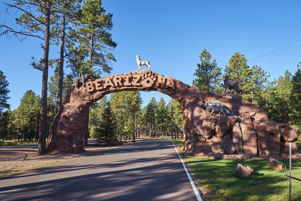 Das Tor zu Bearizona - ein Wildtierpark in Arizona!