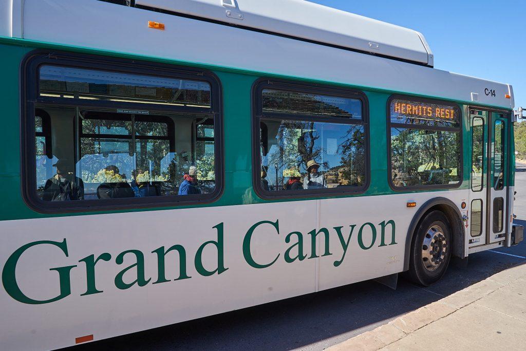Ein Schuttlebus im Grand Canyon