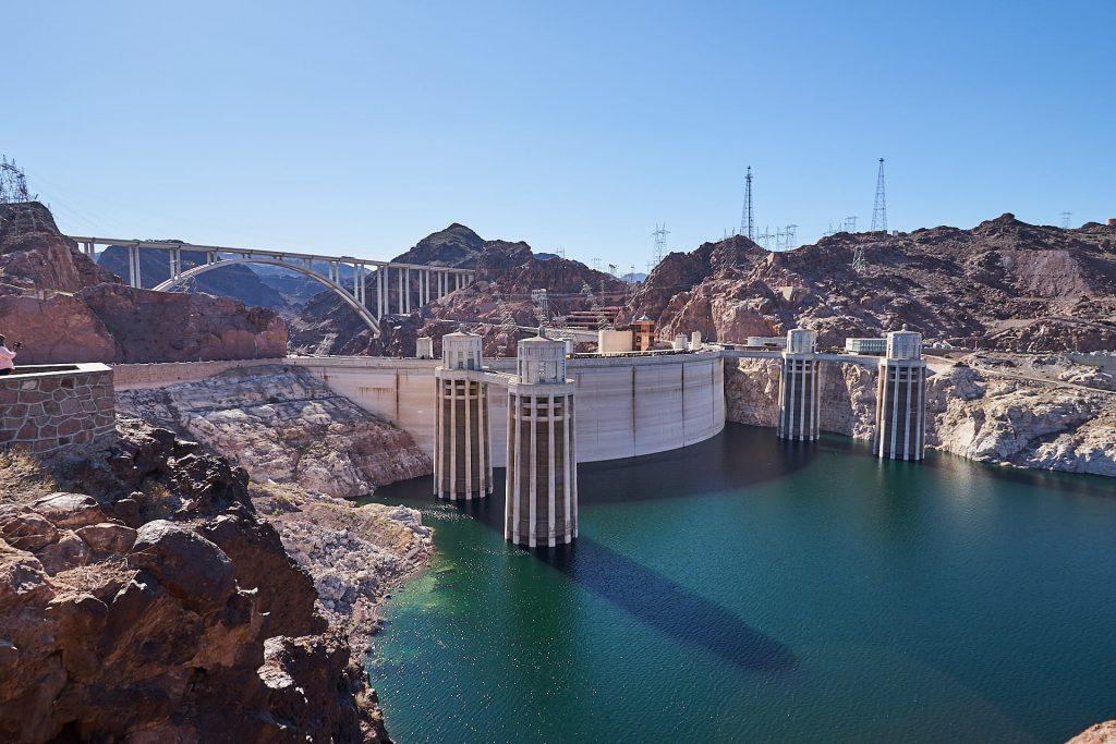 Der Hoover Dam.