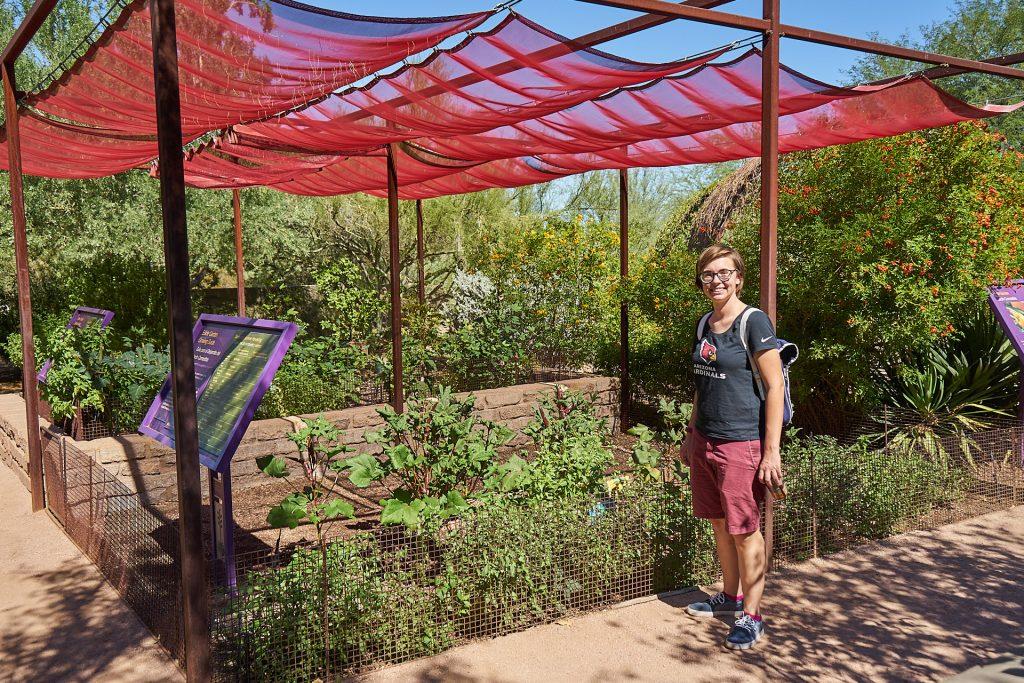 Ich habe einen Kräutergarten entdeckt!