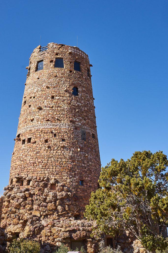 Ein Aussichtsturm: Der Desert View Watchtower.