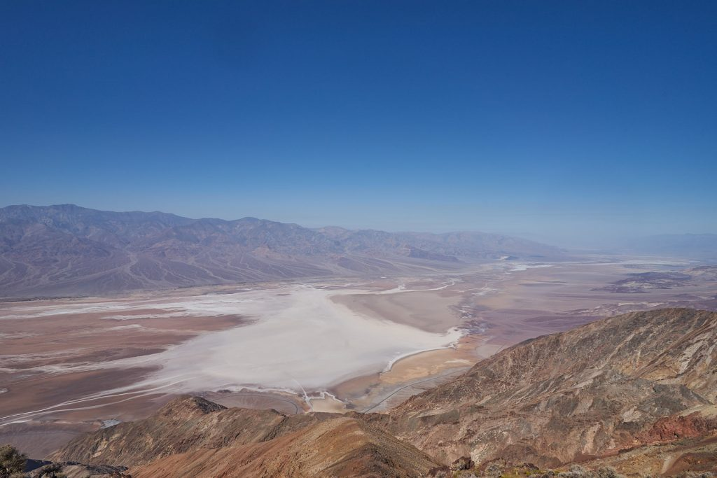 Ausblick von Dante's View im Death Valley Nationalpark.