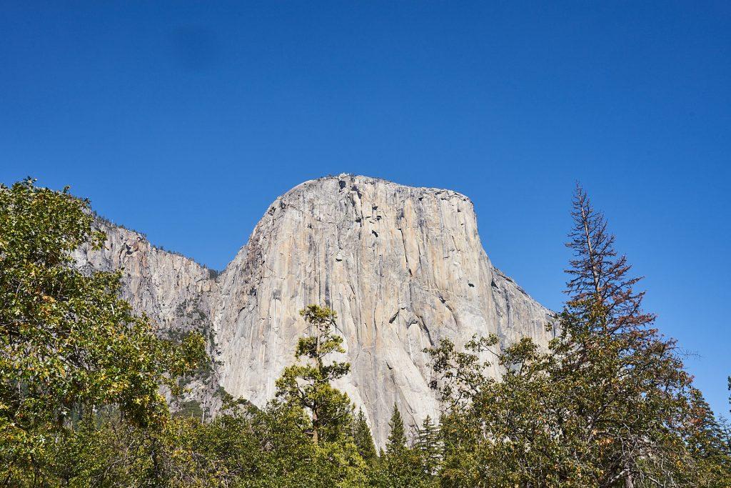 Der El Capitan, der wahrscheinlich bekannteste Berg im Yosemite Nationalpark. | Yosemite Reisebericht