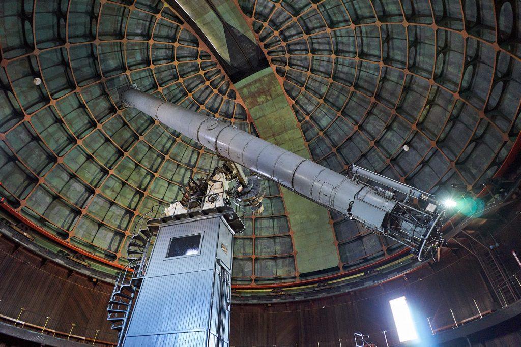 """Der """"Great Lick Refactor"""" - das zweitgrößte Teleskop der Welt."""