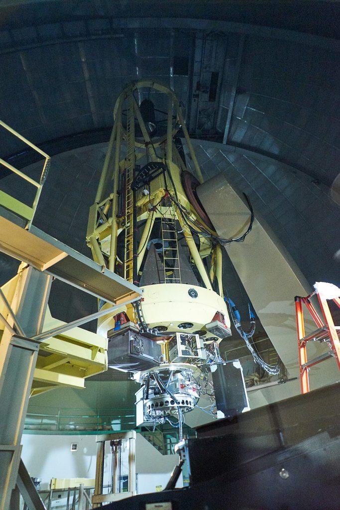 Eines der Teleskope im Lick Observatory.
