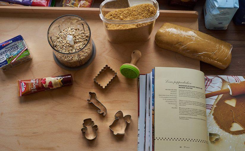 Kekse backen und Punsch verkosten