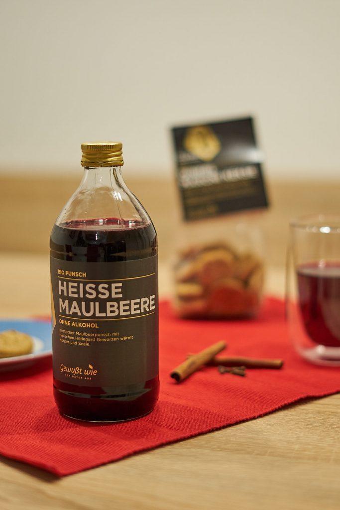 Der alkoholfreie Maulbeer-Punsch von der Gewusst Wie / Hildegard von Bingen Serie.