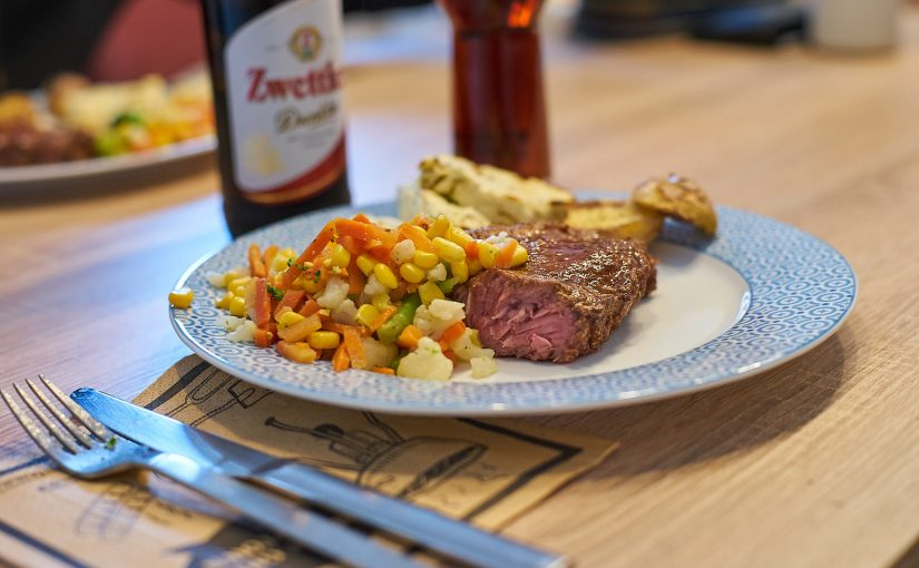 Start in die Grillsaison – Lebkuchen Steak